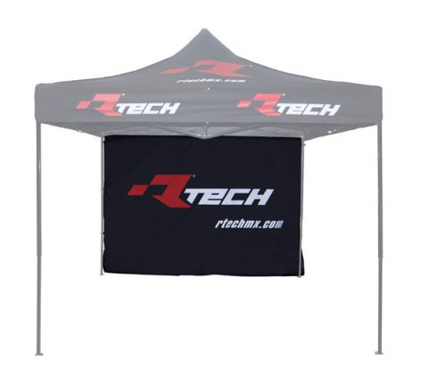 RTECH BRANDED WALL TENT WITH STRAPS 300X200CM