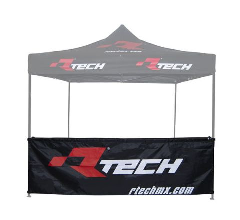 RTECH BRANDED HALF WALL TENT WITH STRAPS 300X90CM