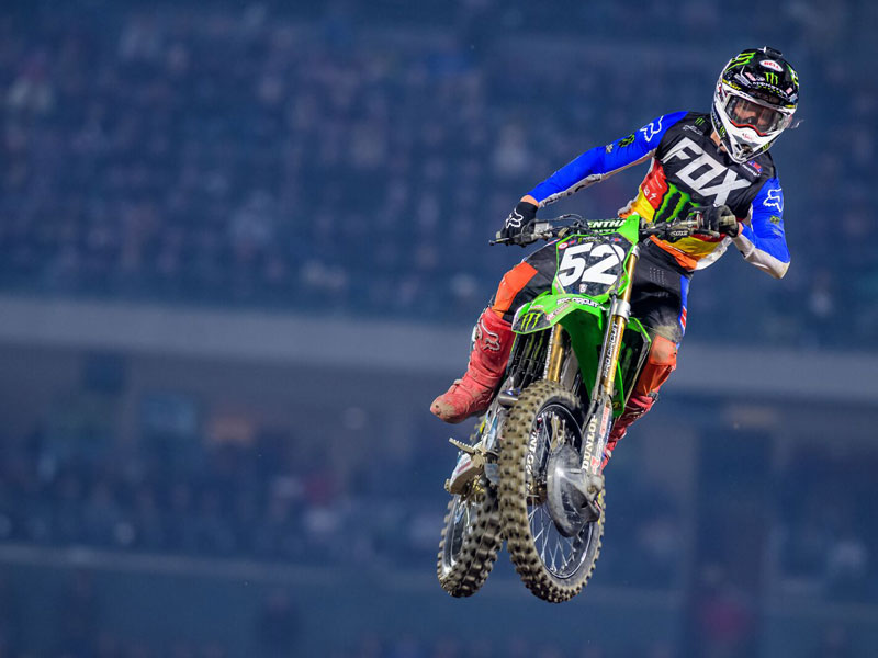 Monster Energy Pro Circuit Kawasaki - Forkner e McAdoo in Anaheim