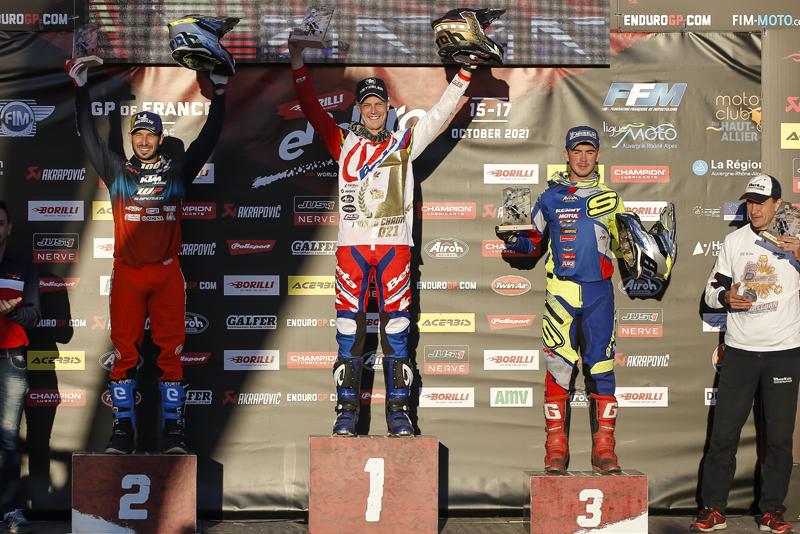 Brad Freeman Campione del Mondo - Classe E3 e Enduro GP